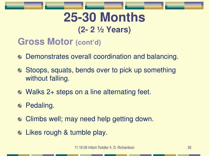 25-30 Months