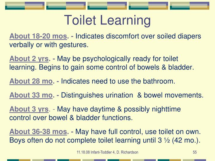 Toilet Learning