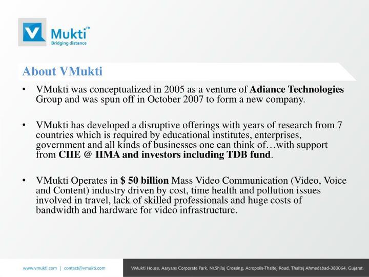 About VMukti