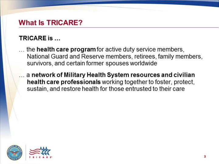 What is tricare