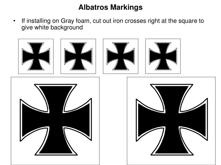 Albatros Markings