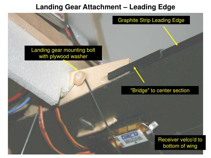 Landing Gear Attachment – Leading Edge