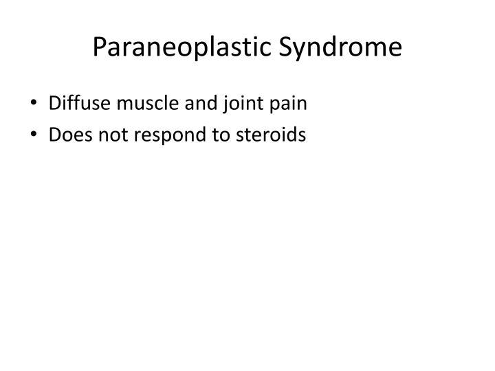 Paraneoplastic