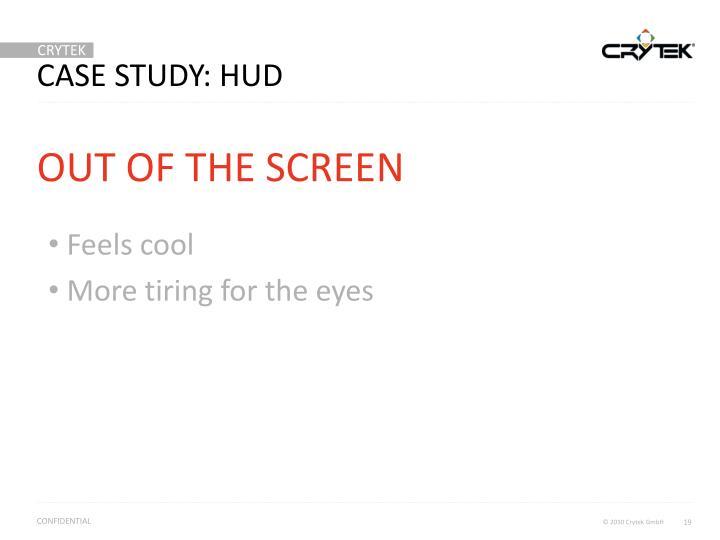 Case study: HUD
