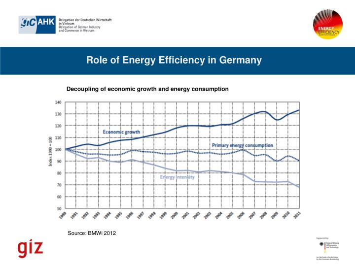 Role of Energy Efficiency in Germany