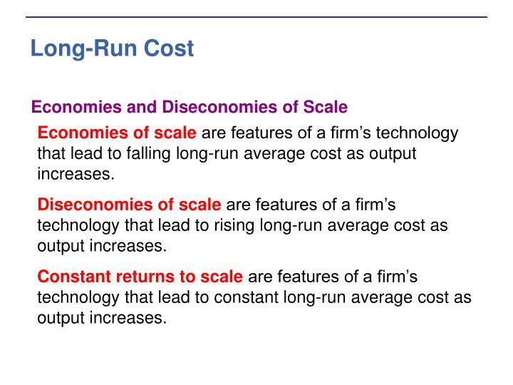Long-Run Cost