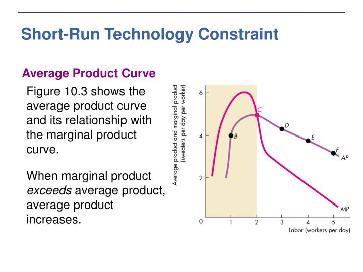 Short-Run Technology Constraint