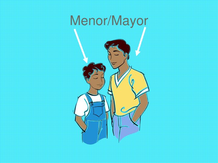 Menor/Mayor