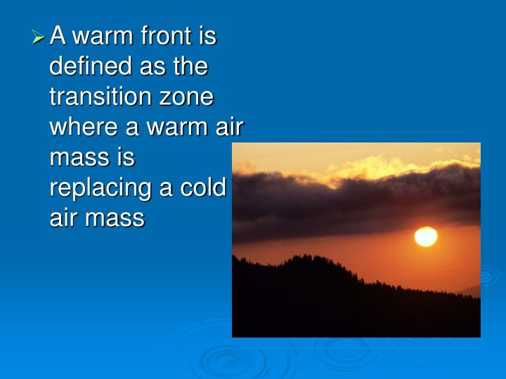 Cold Air Mass : Ppt fronts powerpoint presentation id