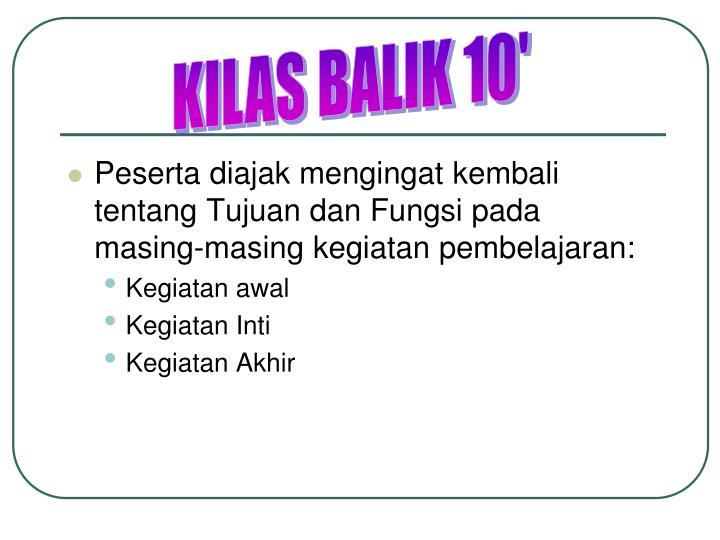 KILAS BALIK 10'