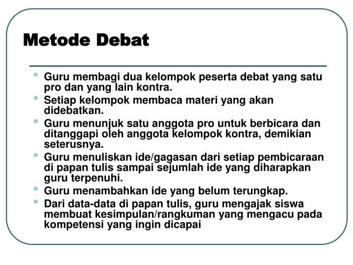 Metode Debat