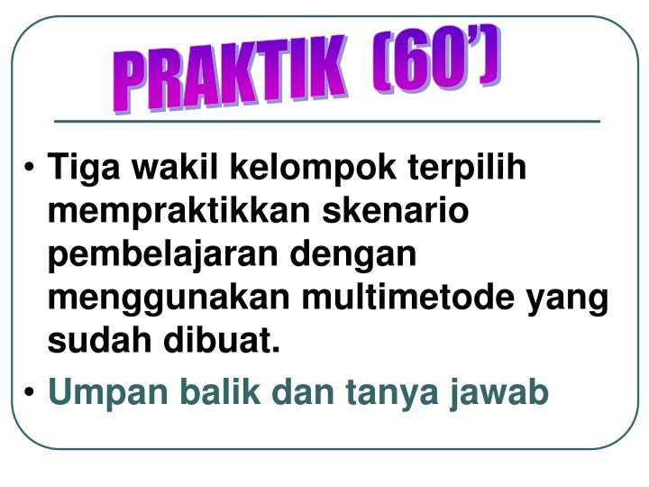 PRAKTIK  (60')