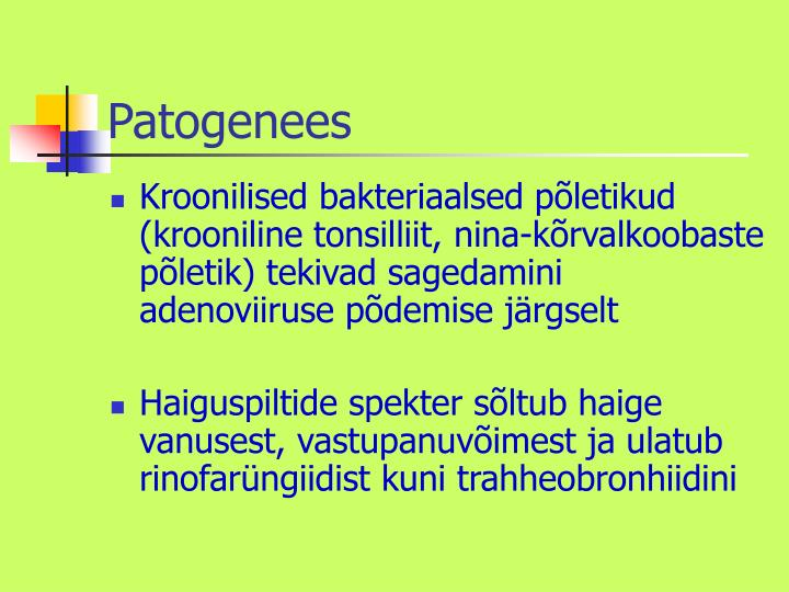 Patogenees
