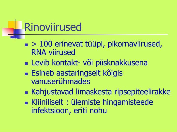Rinoviirused