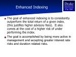 enhanced indexing