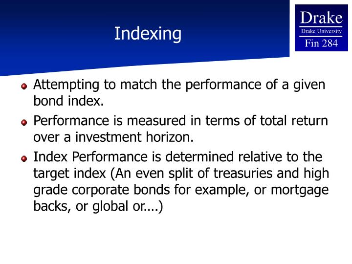 Indexing