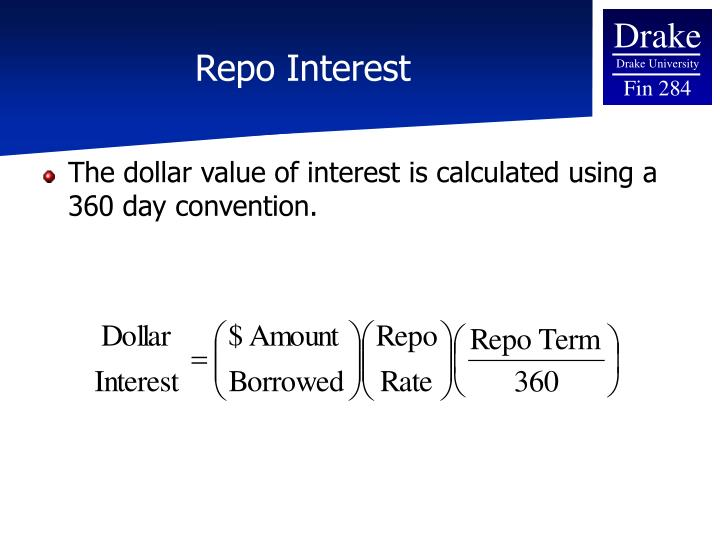 Repo Interest
