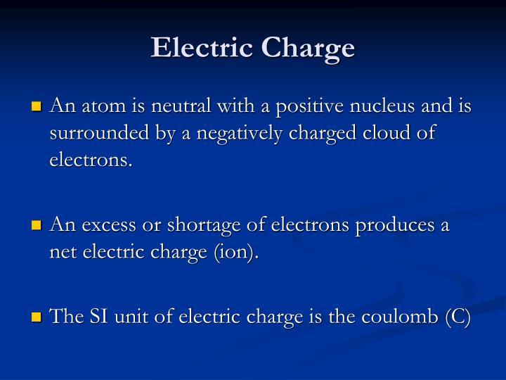 Electric charge1