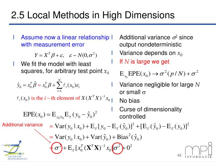Assume now a linear relationship with measurement error