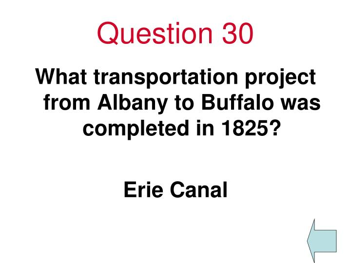 Question 30