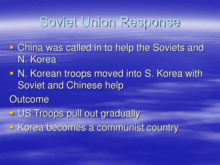 Soviet Union Response