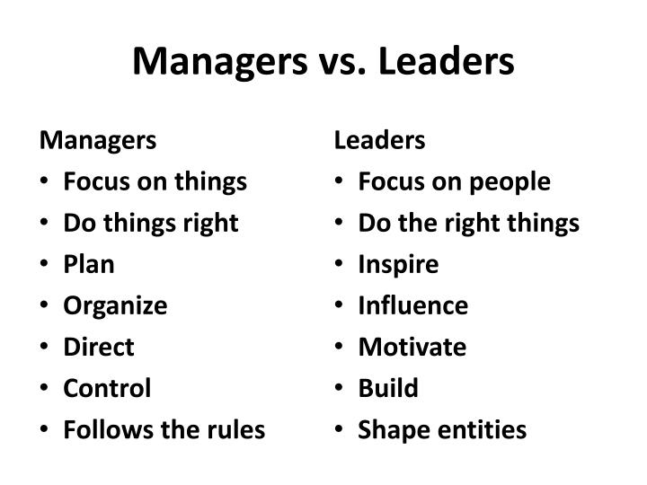 Managers