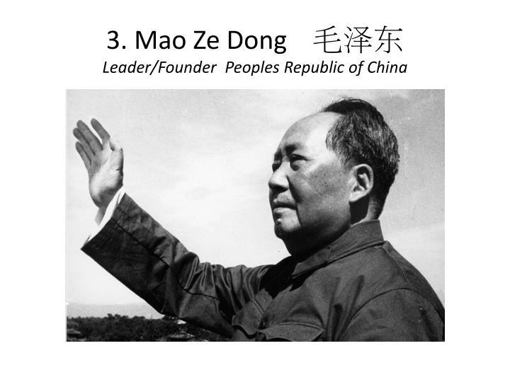 3. Mao