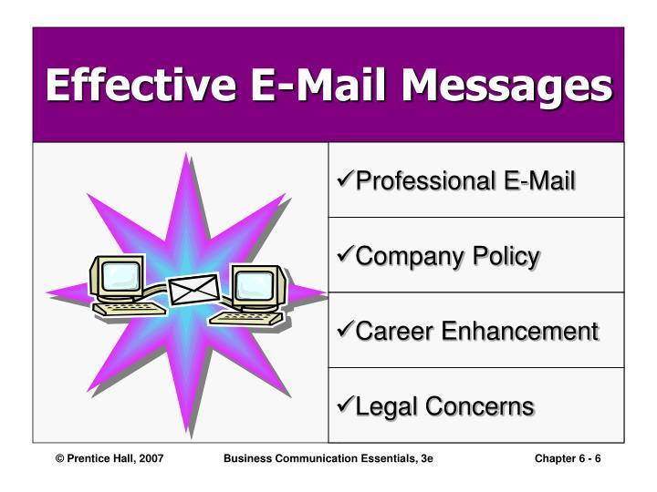 Professional E-Mail