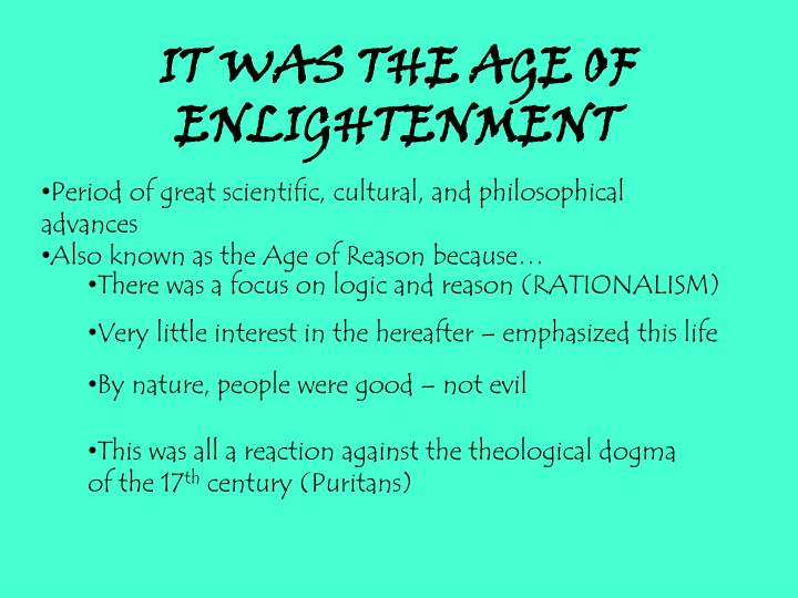 the great awakening and age of enlightenment essay Tueting ap us 2010 11 great awakening handout  enlightenment and great  awakening venn diagram the great awakening and age of enlightenment essay .