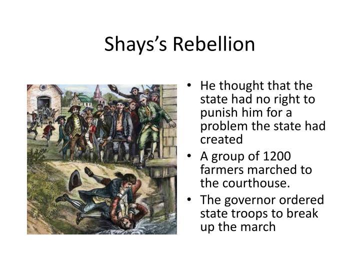 Shays's Rebellion