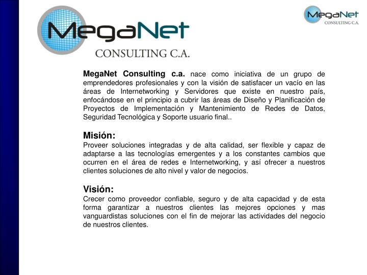 MegaNet Consulting c.a.
