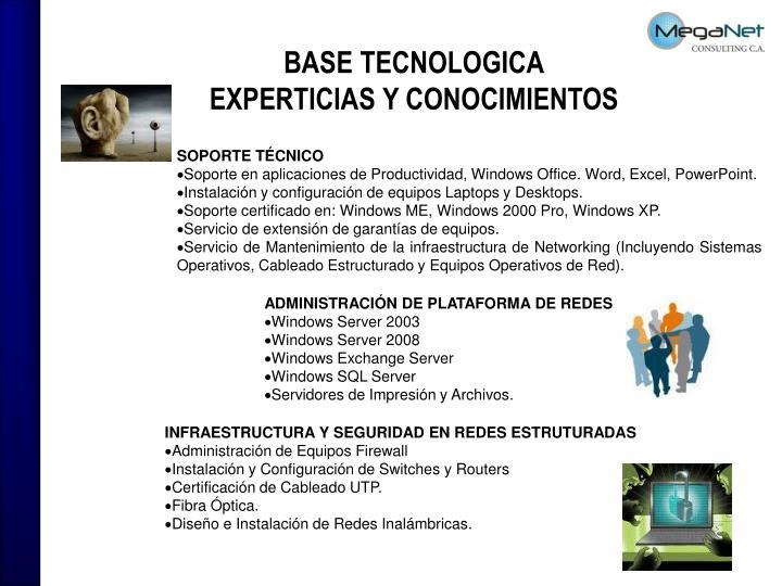 BASE TECNOLOGICA