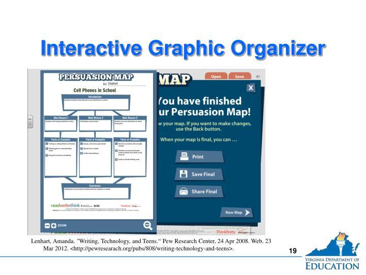 Interactive Graphic Organizer