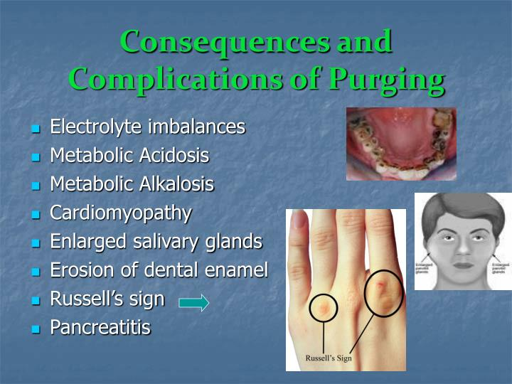 Consequences and Complications of Purging