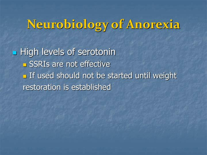 Neurobiology of Anorexia