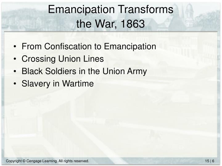 Emancipation Transforms