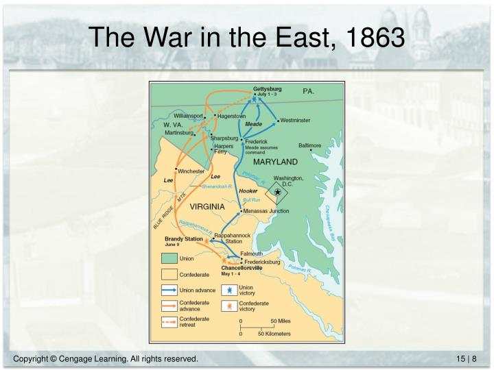 The War in the East, 1863