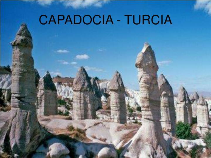 CAPADOCIA - TURCIA