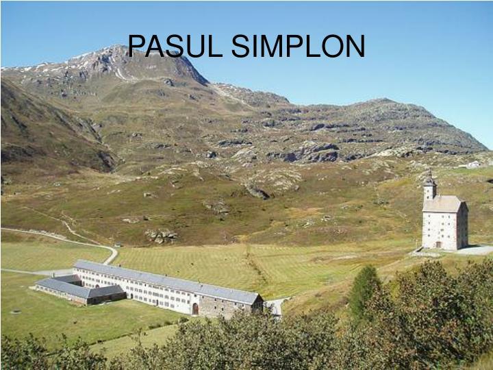 PASUL SIMPLON