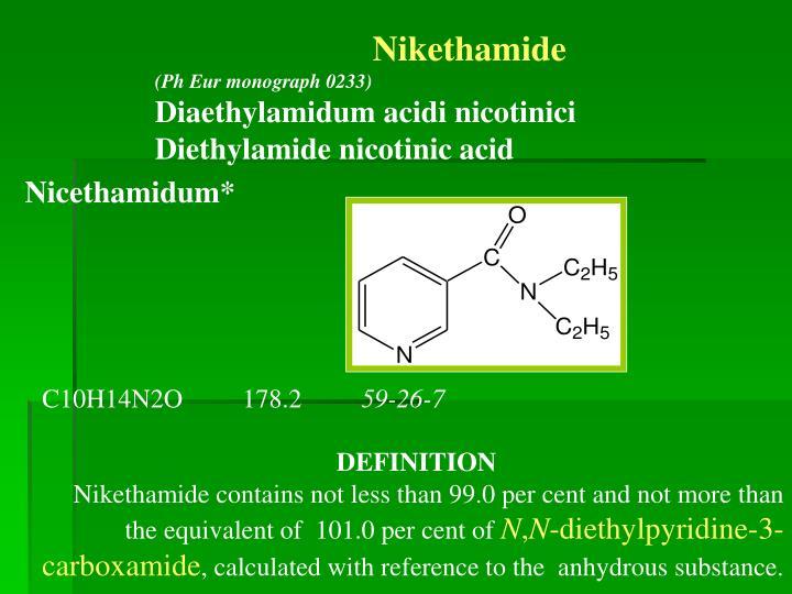 Nikethamide