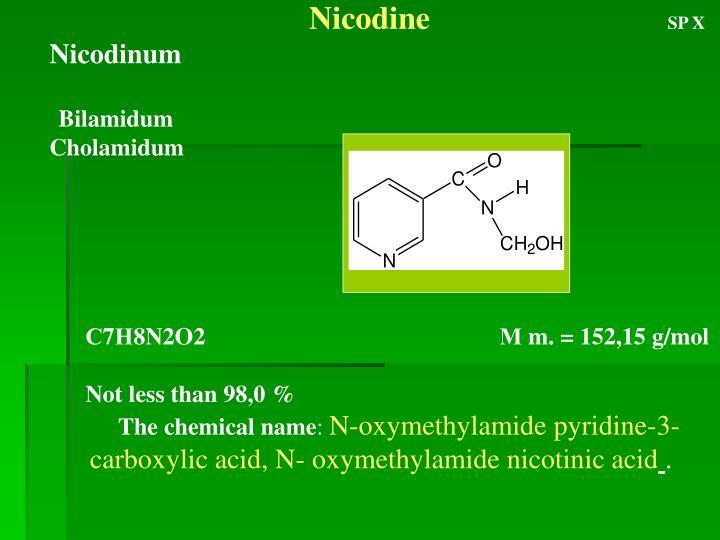 Nicodine