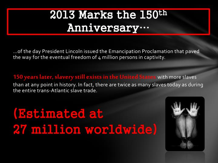 2013 Marks the 150