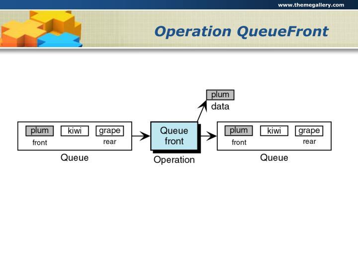 Operation QueueFront