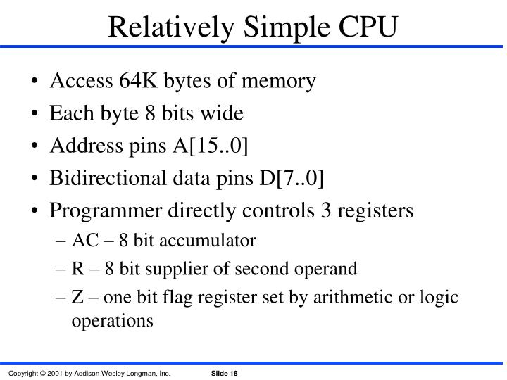 Relatively Simple CPU