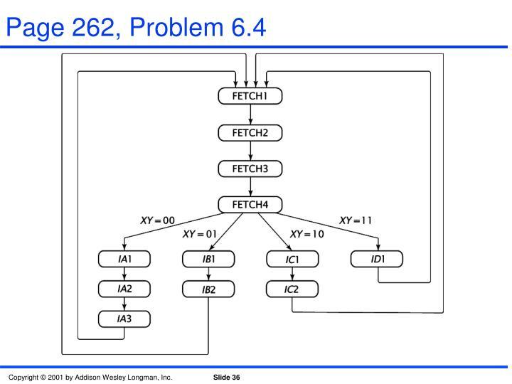 Page 262, Problem 6.4