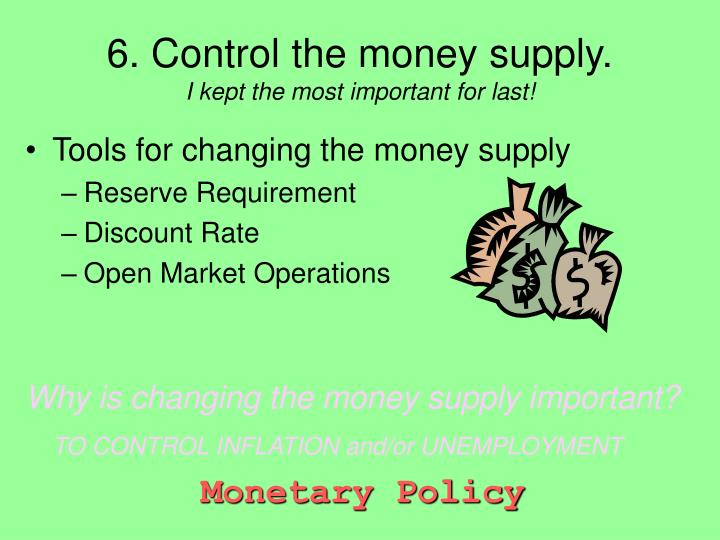 ?how does federal reserve control the money supply? essay This paper will examine the good that the federal reserve does and  the money supply and the imbalance in the federal  federal reserves control of money.