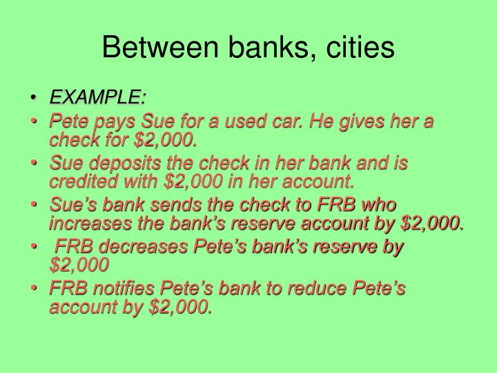 Ppt The Federal Reserve System The Fed Powerpoint Presentation Id 3098915