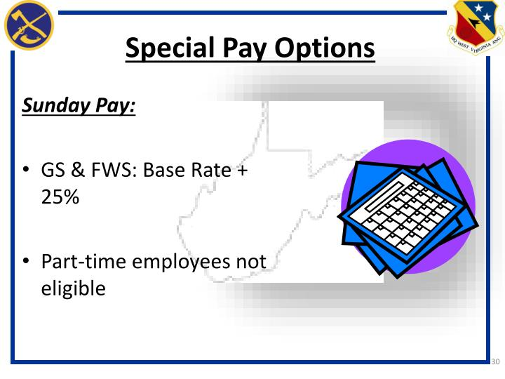 Special Pay Options