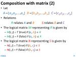 composition with matrix 2