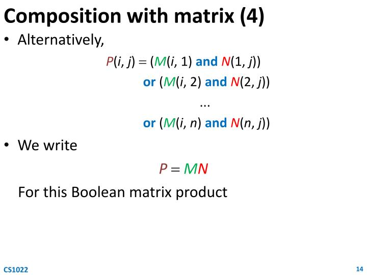 Composition with matrix (4)